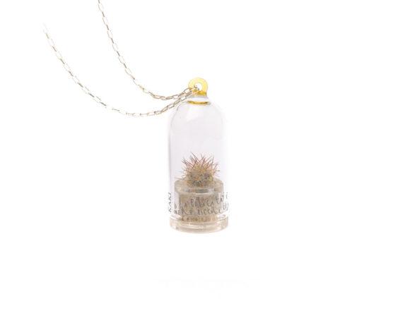 Collana Capsula Aurora Cactus Ambra Luxury