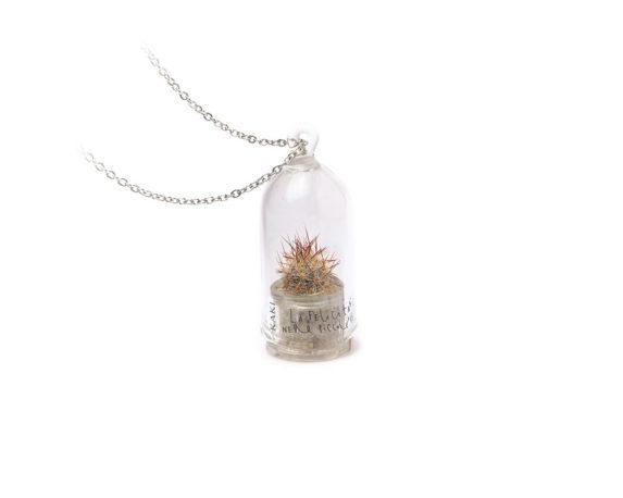 Collana Capsula Aurora Cactus La Felicita' Original