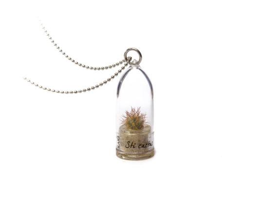 Collana Capsula Sti Cactus Bonsai