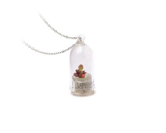 Collana Capsula Stone Rose La Felicita' Original