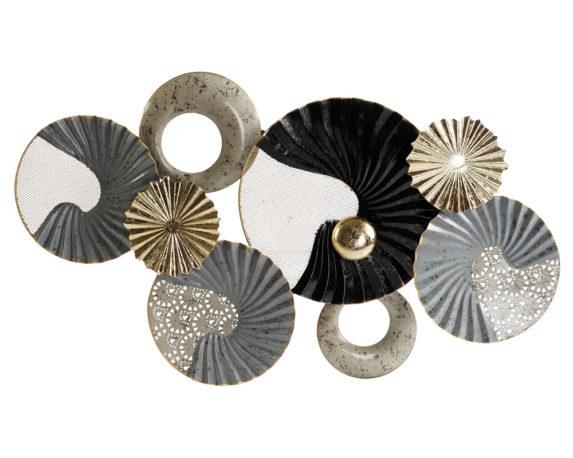 Decorazione Per Pareti Shell Metallo