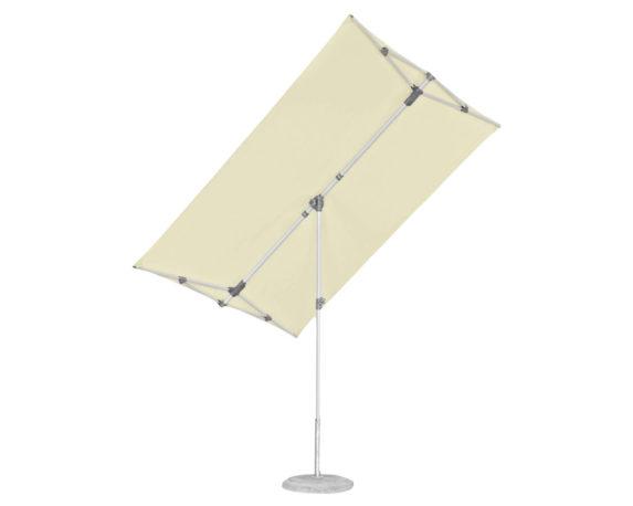 Ombrellone Palo Centrale Flex Roof 2.1×1.5m Ecru