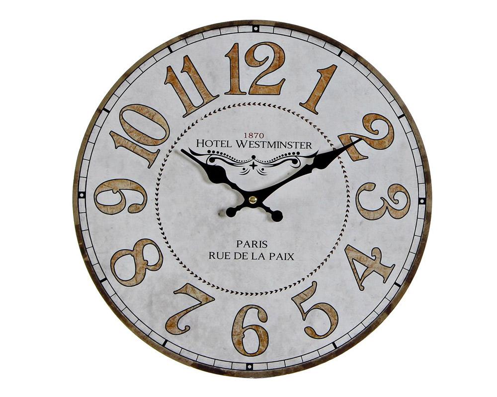OROLOGIO PARETE VINTAGE LEGNO PARIS RE 176617 ITEM INTERNATIONAL