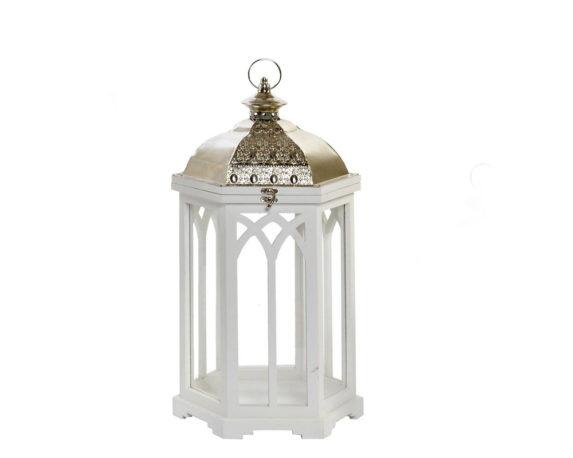 Lanterna Luxury Faro Oro Medium
