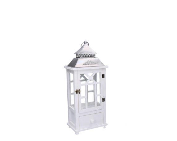 Lanterna Giulien Small Bianco Naturale 1 Cassetto