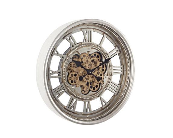 Orologio Parete Engrenage D60 Bianco