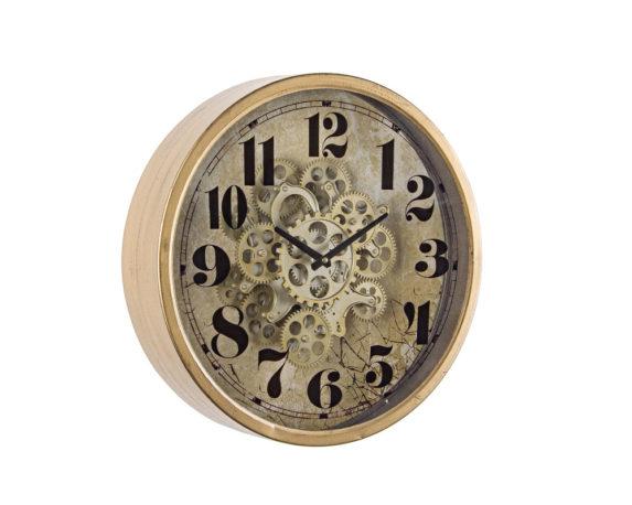 Orologio Parete Engrenage D46 Oro