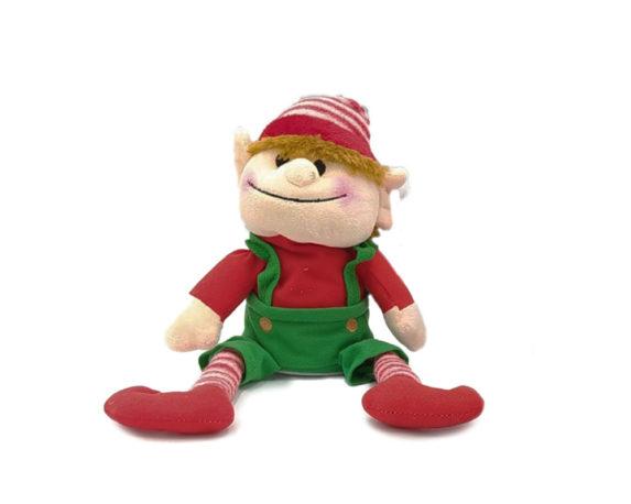 Elfi Di Babbo Natale Movimento H17 Assortiti