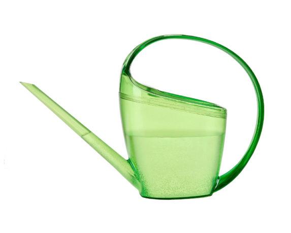 Annaffiatoio Loop Verde Trasparente
