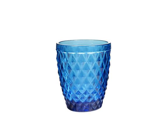 Bicchieri Acqua Winston Blu Vetro