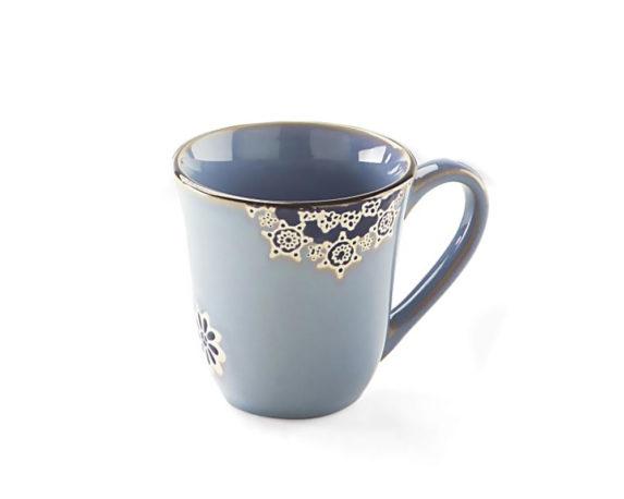 Mug Flower Design Gres