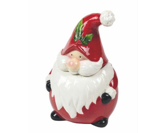 Biscottiera Babbo Natale Traditional Christmas
