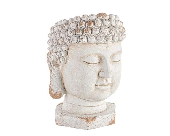 Vaso Testa Buddha Anticato Magnesia