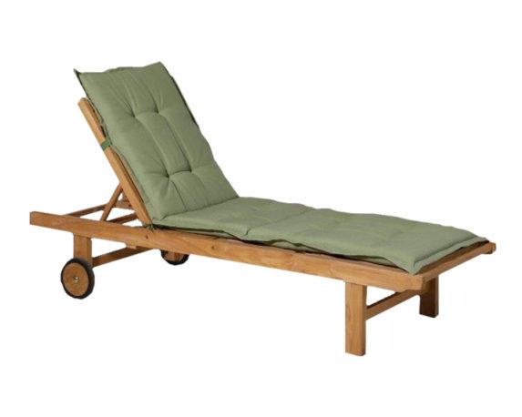 Cuscino Lettino Verde 190×60 Cotone