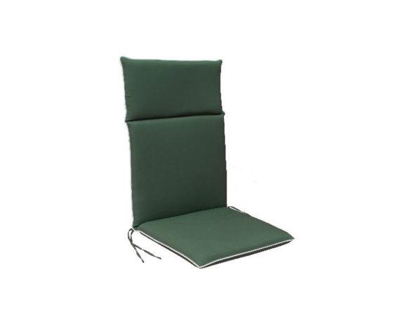 Cuscino Poltrona Alta Verde