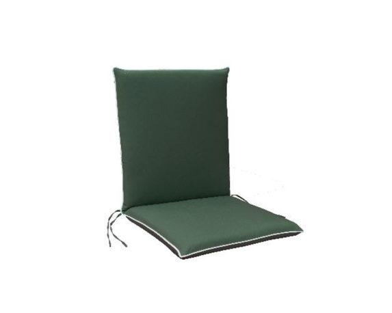 Cuscino Poltrona Bassa Verde