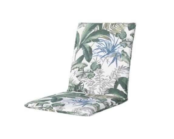Cuscino Seduta Poltrona Foglie 97×49 Cotone