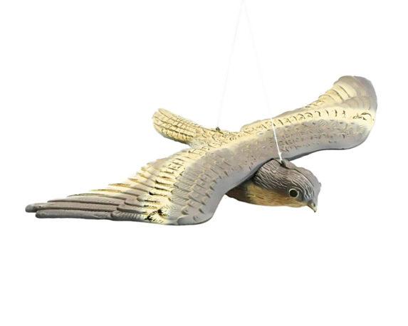 Falco Ali Aperte Spaventapasseri Plastica