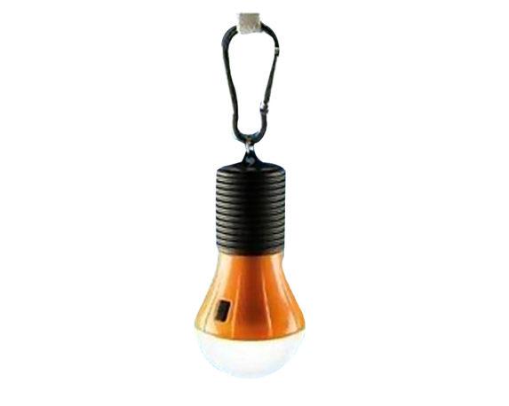 Lampada Da Campeggio LED 1W C/gancio Moschettone Mix Color