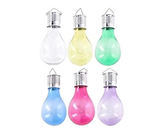 Lampadina Solare LED Da Appendere Mix Color