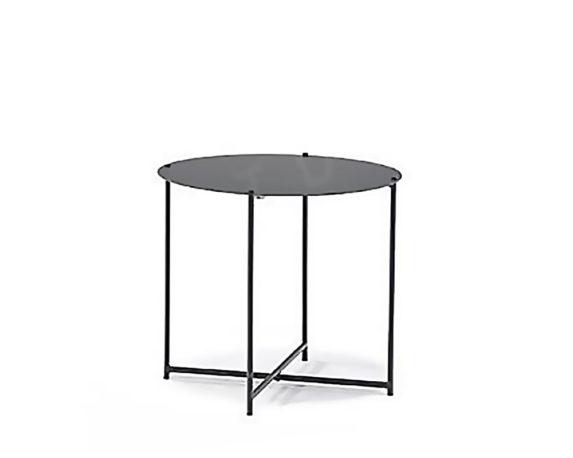 Tavolino Richiudibile Antracite Alluminio