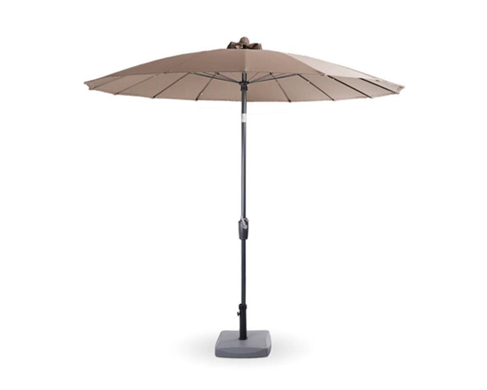 ombrellone haiti taupe alluminio d250