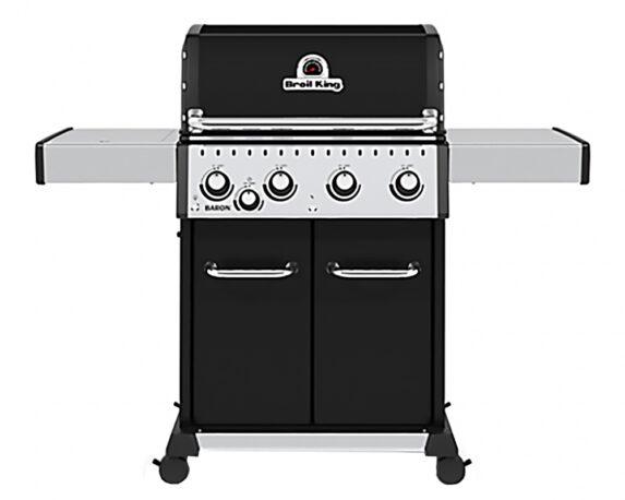 Barbecue Baron Led 440 A Gas C/fornello Laterale