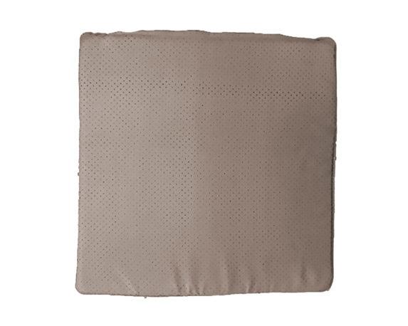 Cuscino Seduta Antiscivolo Beige 40×40 Cotone