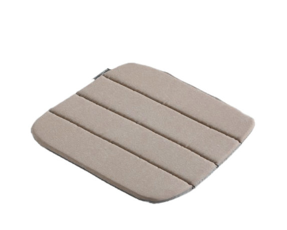 Cuscino Seduta Antiscivolo Impunture  Beige 40×40 Cotone