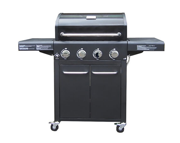 Barbecue Generation A Gas Basic C/carrello Blu Metallizzato