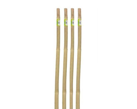 4 Canne Per Supporto Ortaggi In Bamboo H120