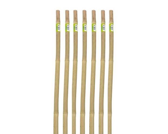 7 Canne Per Supporto Ortaggi In Bamboo H90
