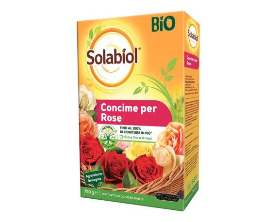 Concime Granulare Biologico Per Rose 750g – Solabiol