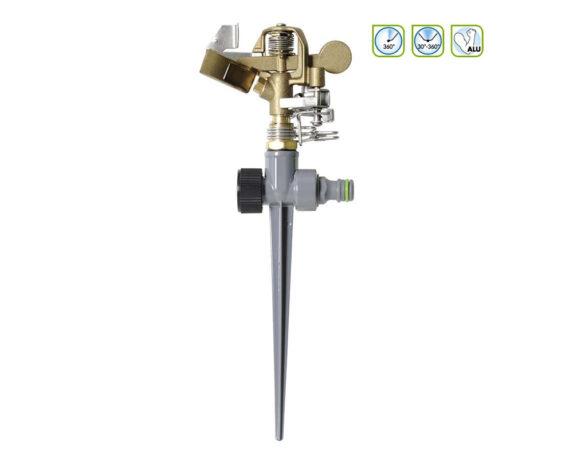 Irrigatore Pulsante Metallo 360°