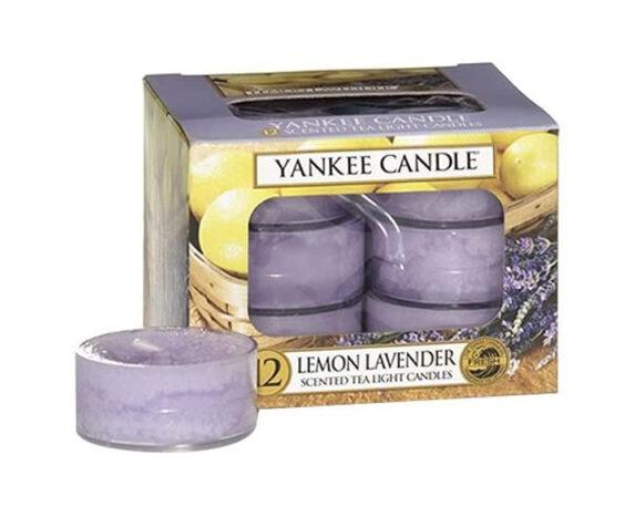 Candele Tea Lights Lemon Lavender Classic