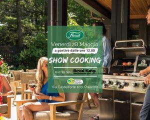Show Cooking con i nostri esperti del Barbecue