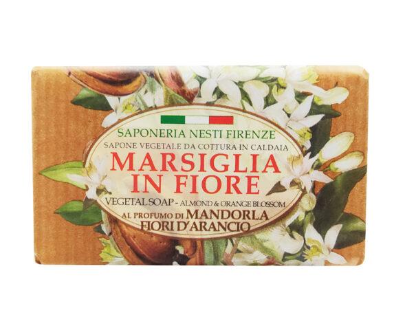 Sapone Mandorla/Fior Di Arancio – Marsiglia In Fiore