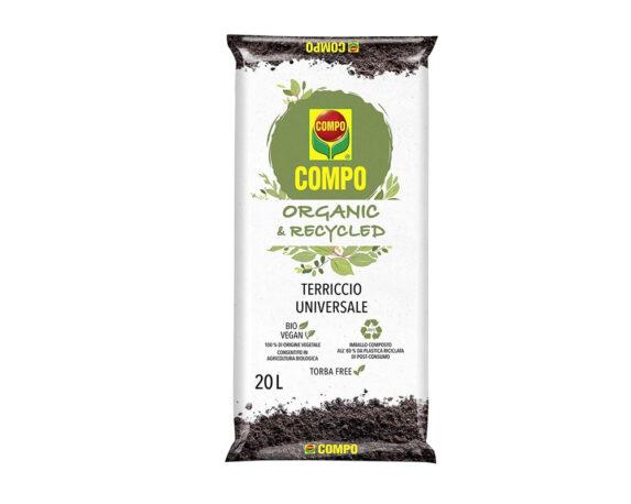 Terriccio Universale Organic&Recycled 20lt – Compo