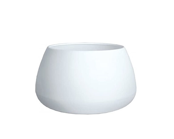 Vaso Ovale Gaudi Ø67 Cm Bianco